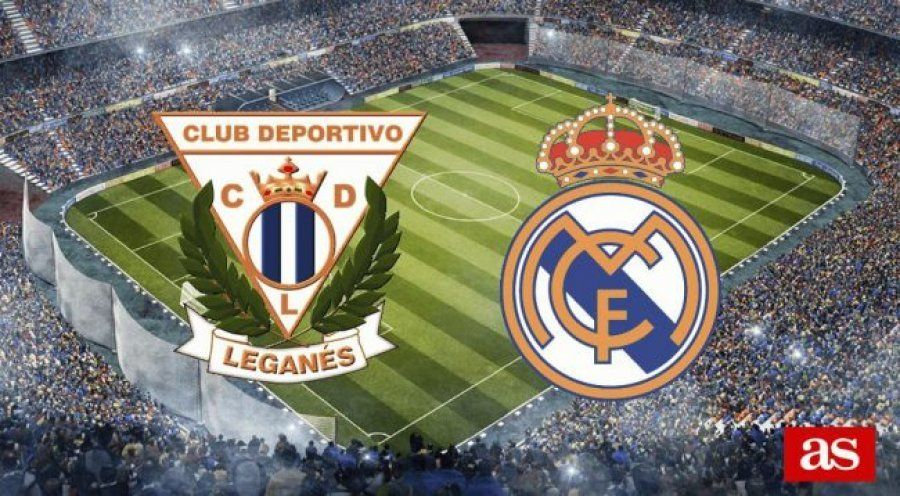 Formacionet zyrtare: Leganes – Real Madrid