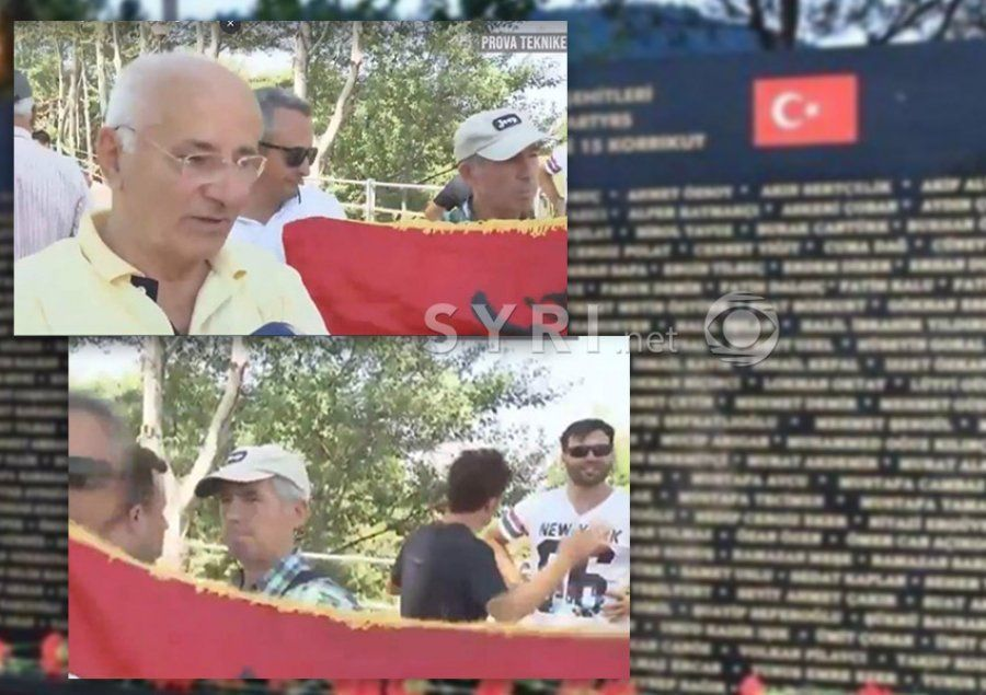 Rama and Veliaj's police attack citizens that protest against the Turkish memorial in Tirana