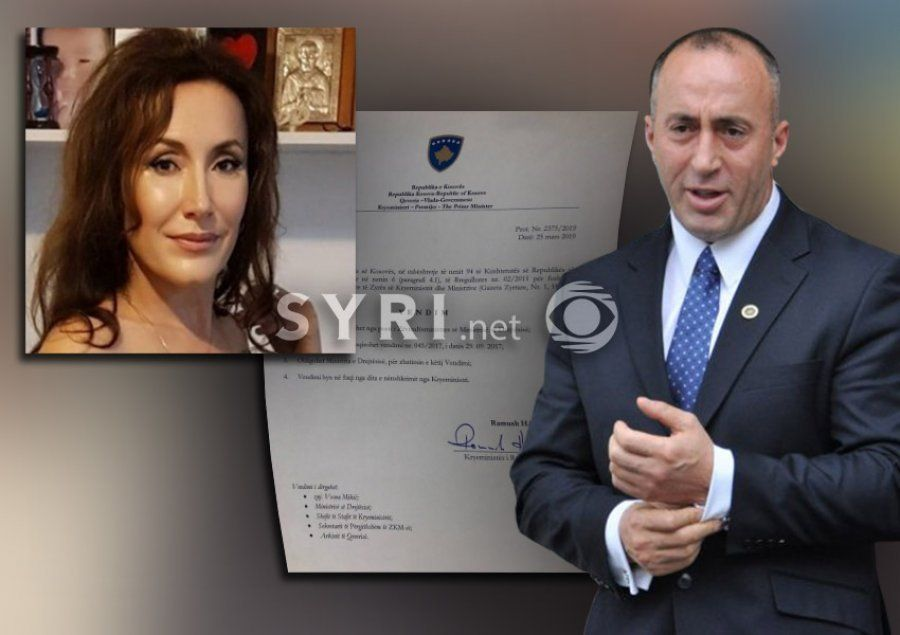 Kosovo Premier Haradinaj fires the vice minister that condemned NATO raids against Serbia