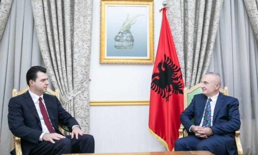 President Meta meets opposition leader Lulzim Basha, talk about the political crisis