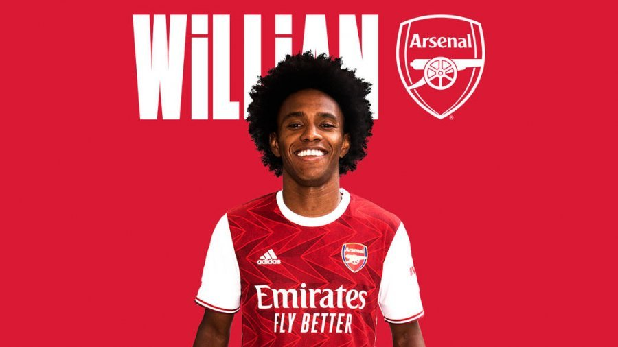 Zyrtare: Willian firmos me Arsenal