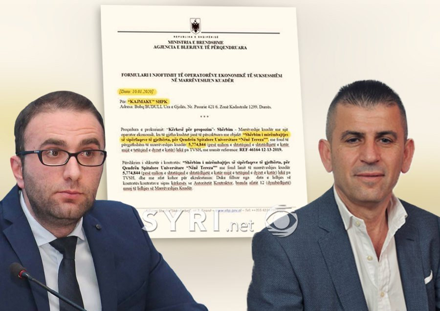PD reveals the document: Rama gave a public contract to disgraced Vora Mayor Kajmaku, wanted by police