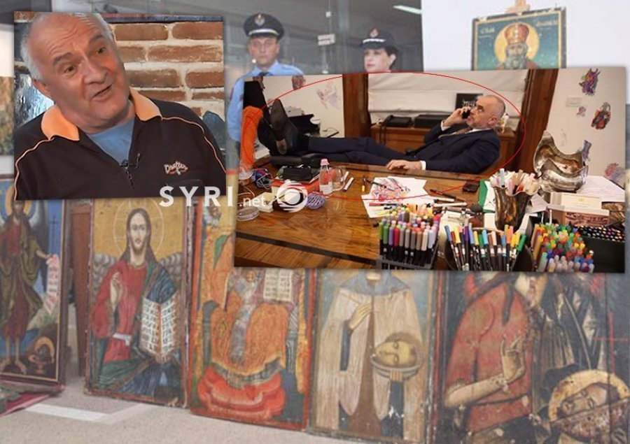 The art collector says 'Rama was arrested twice in France over icons traffic, tried to eliminate me in prison'