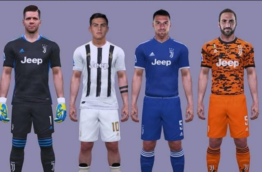 FOTO/ Juventusi ndryshon ngjyrën e fanellës së dytë, shiheni si do jetë për sezonin e ardhshëm