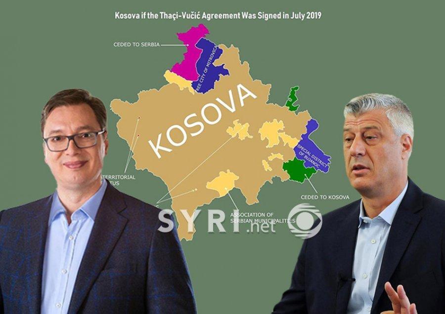 FOTO/ Analisti publikon hartën se si ndahet Kosova: Ja pse u rrëzua qeveria 'Kurti'