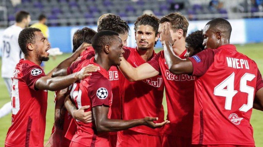 Champions  Salzburg fiton me p euml rmbysje ndaj Maccabi Tel Aviv  Ja rezultatet e ndeshjeve kualifikuesve
