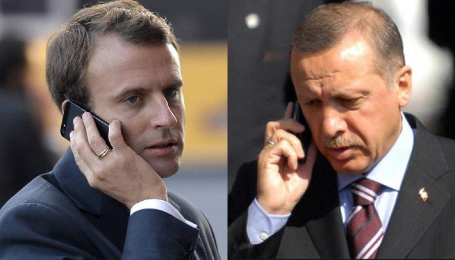 lsquo Marr euml dh euml niet dypal euml she dhe  ccedil  euml shtja e Mesdheut Lindor rsquo   Zbardhet telefonata e Erdogan me Macron