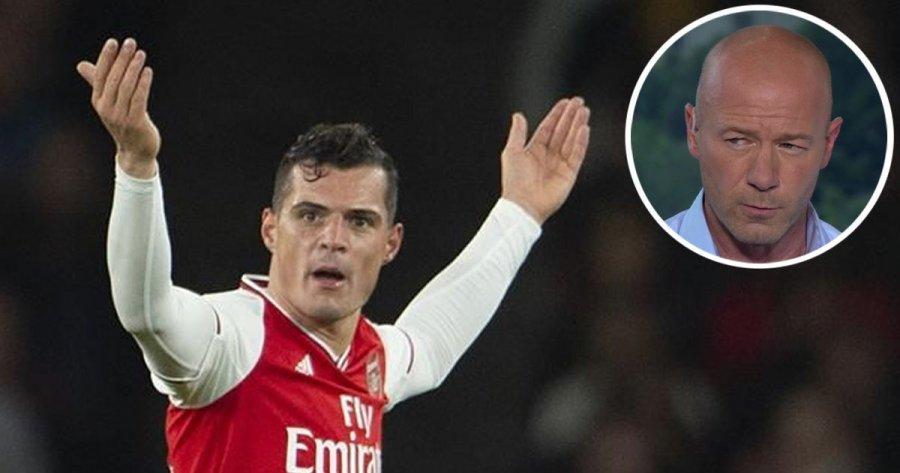 Alan Shearer i ashpër më Xhakën: Kjo nuk justifikohet, është kartoni i 11 i kuq me Arsenalin